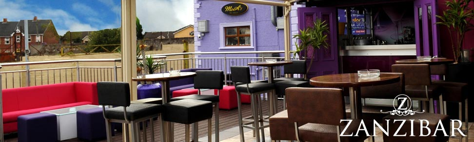The Veranda Bar and Terrace at McAleers, Dungannon